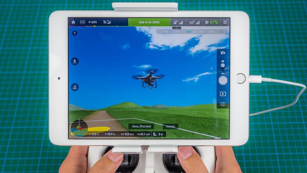 FPV drone DJI